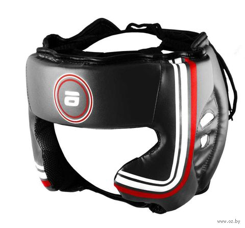 Шлем боксёрский LTB-16320 (M; чёрный) — фото, картинка