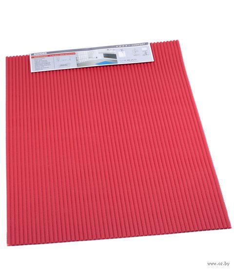 """Коврик для ванной """"Standard"""" (50х80 см; красный) — фото, картинка"""