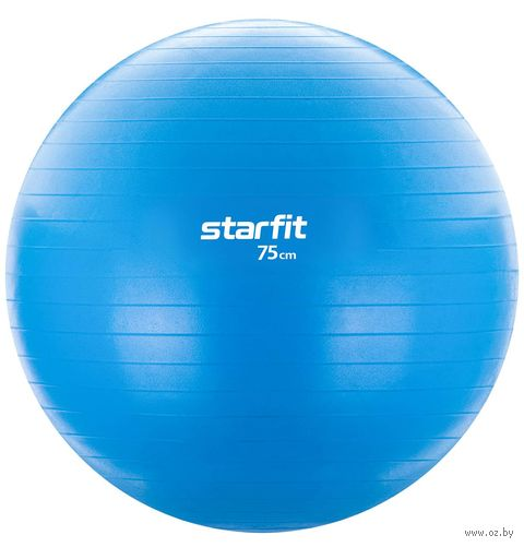 Фитбол GB-104 75 см (голубой) — фото, картинка