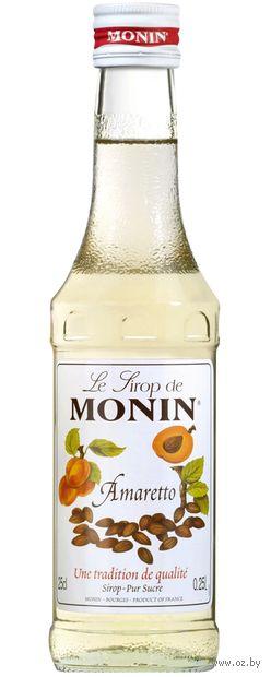"""Сироп """"Monin. Амаретто"""" (250 мл) — фото, картинка"""