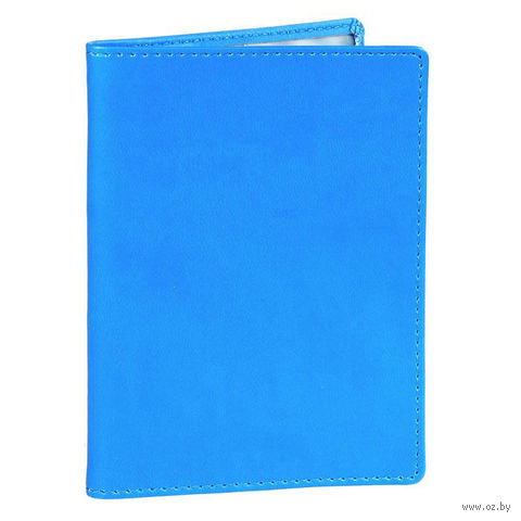 "Обложка для паспорта Time/System ""Skiver"" (blue)"
