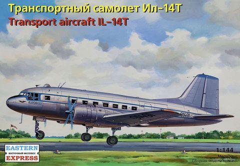 Транспортный самолет Ил-14Т (масштаб: 1/144)