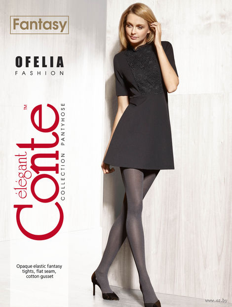 """Колготки женские фантазийные """"Conte. Ofelia"""""""