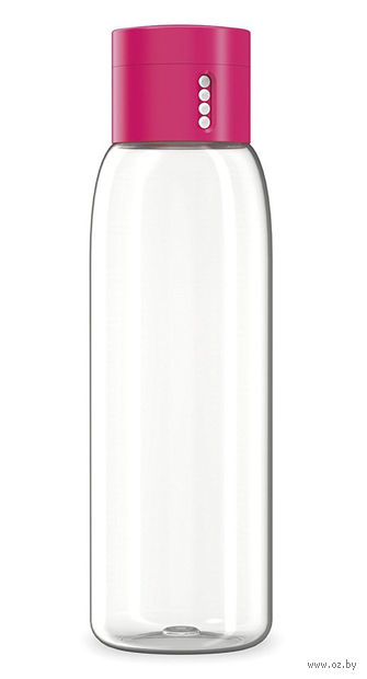 "Бутылка для воды ""Dot"" (600 мл; розовая) — фото, картинка"
