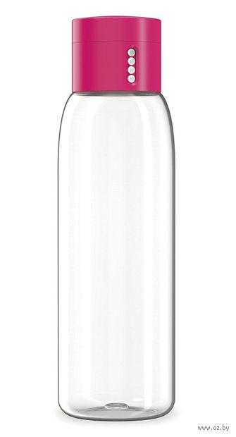 """Бутылка для воды """"Dot"""" (розовая; 600 мл)"""