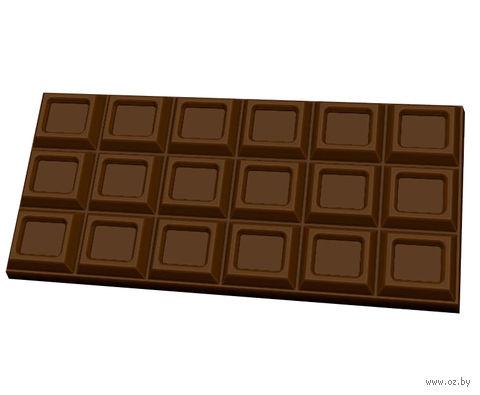 """Форма для изготовления мыла """"Шоколад. Традиционный"""" — фото, картинка"""