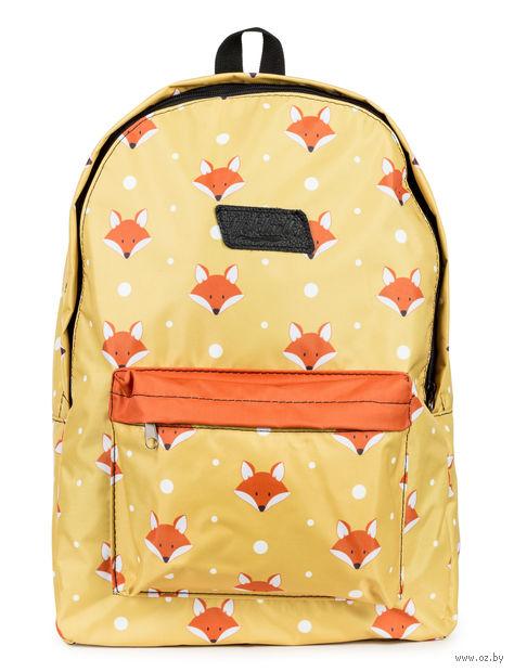 """Рюкзак """"Лисички"""" (15 л; оранжевый) — фото, картинка"""