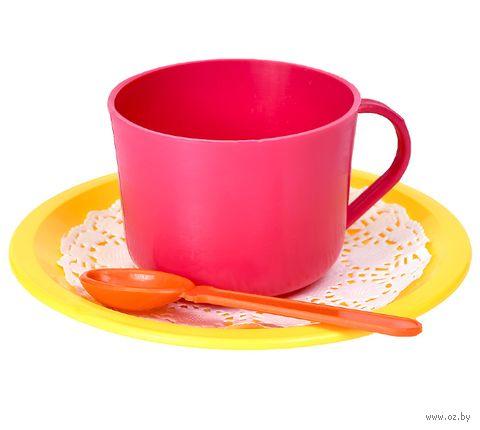 """Набор детской посуды """"Малинка"""" — фото, картинка"""