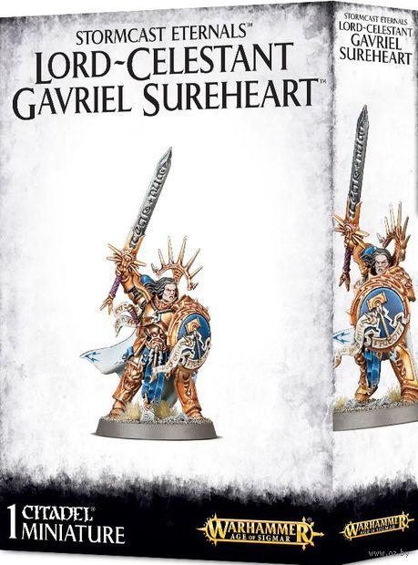 Warhammer Age of Sigmar. Stormcast Eternals. Lord-Celestant Gavriel Sureheart (96-34) — фото, картинка