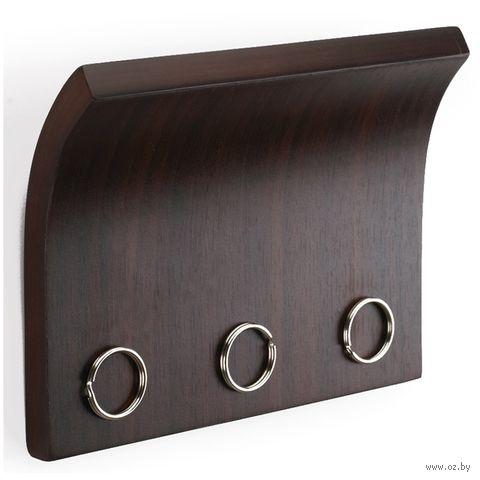 "Вешалка для ключей ""Magnetter"" (эспрессо) — фото, картинка"