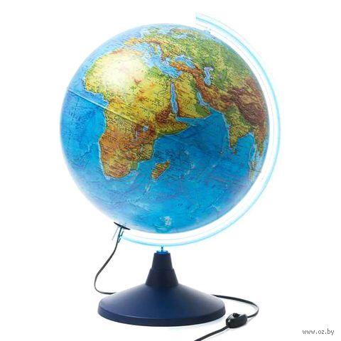 Глобус (физико-политический; интерактивный; 250 мм) — фото, картинка