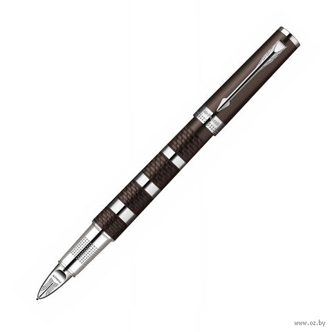 "Перьевая ручка Parker ""Ingenuity Large Brown Rubber&Metal CT"" ""Пятый пишущий узел"""