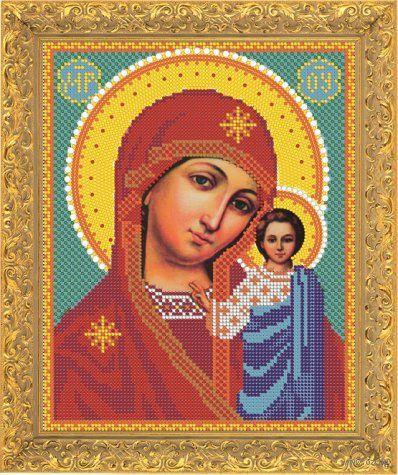 """Вышивка бисером """"Пресвятая Богородица Казанская"""" (арт. 7335)"""