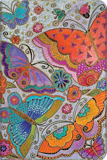 """Еженедельник Paperblanks """"Бабочки"""" на 2016 год (формат: 135*210 мм, макси) — фото, картинка"""