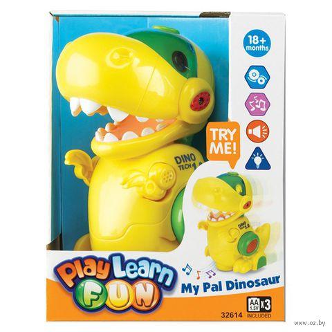 """Музыкальная игрушка """"Мой друг Динозавр"""" (со световыми эффектами)"""