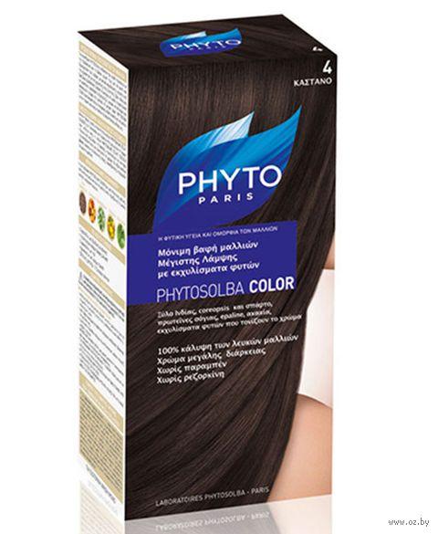 "Краска для волос ""Phytocolor"" (тон: 4, шатен)"