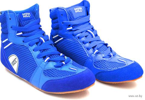 Обувь для бокса PS006 (р. 39; синяя) — фото, картинка