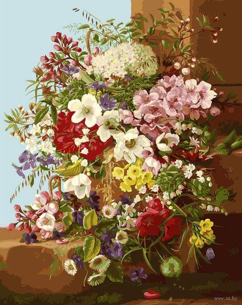 "Картина по номерам ""Свежие цветы"" (400х500 мм) — фото, картинка"
