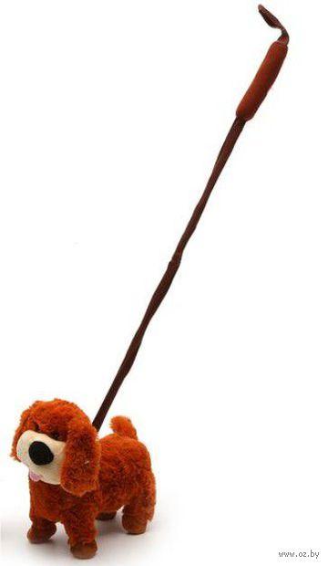 """Мягкая игрушка """"Рыжий пес"""" (со звуковыми эффектами)"""