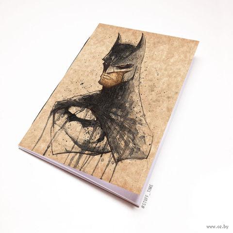 """Блокнот крафт """"Бэтмен"""" (А7; арт. 699) — фото, картинка"""