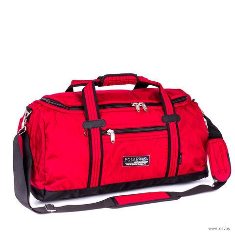 Сумка спортивная малая П809В (29 л; красная) — фото, картинка