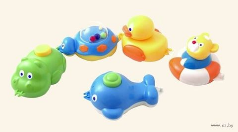 Набор игрушек для купания (арт. 2/594)