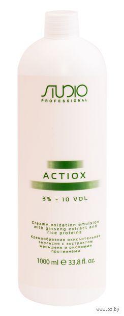 """Эмульсия-окислитель для волос """"ActiOx 3%"""" (1 л) — фото, картинка"""