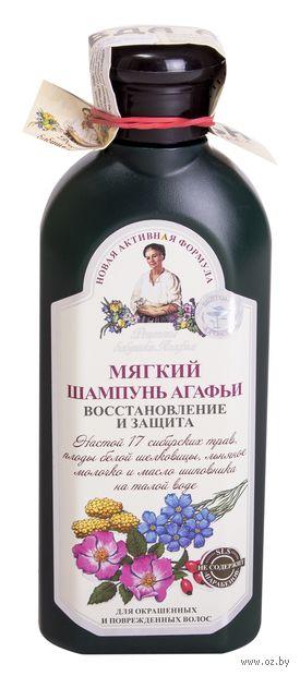 """Шампунь для волос """"Восстановление и защита"""" (350 мл) — фото, картинка"""