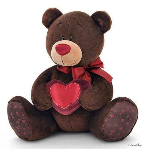 """Мягкая музыкальная игрушка """"Медведь Choco"""" (21 см)"""