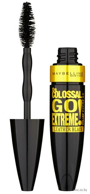 "Тушь для ресниц ""Colossal Go Extreme Leather Black"" (тон: черный)"