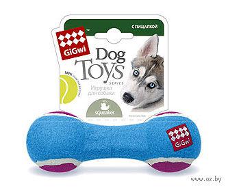 """Игрушка для собак """"Гантеля"""" (18 см)"""