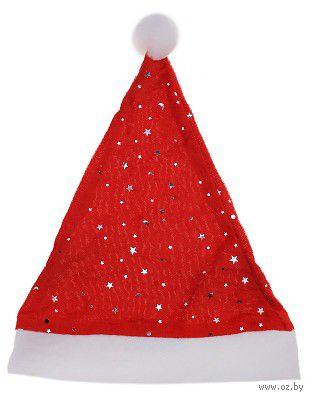 Шапка новогодняя текстильная (36х26 см)