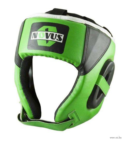 Шлем боксёрский (M; зелёный; арт. LTB-16321) — фото, картинка
