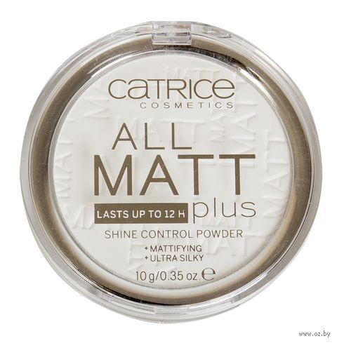 "Компактная пудра для лица ""All Matt Plus Shine Control Powder"" тон: 001 — фото, картинка"