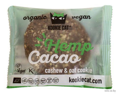 "Печенье ""Kookie Cat. Конопля и какао"" (50 г) — фото, картинка"