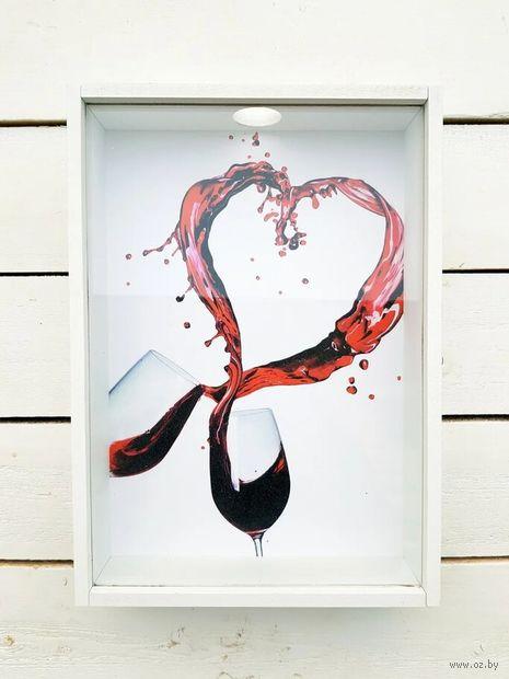 """Копилка для винных пробок """"Брызги вина"""" — фото, картинка"""