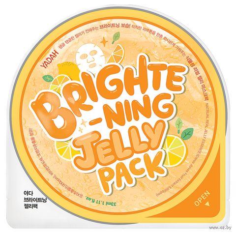 """Тканевая маска для лица """"Jelly Pack. Brightening"""" (25 г) — фото, картинка"""
