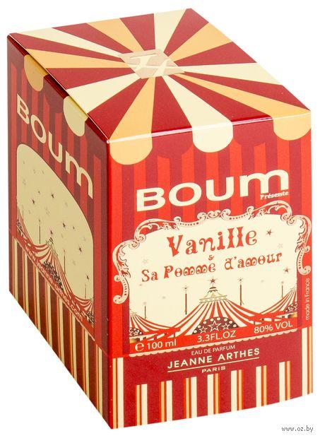 """Парфюмерная вода для женщин """"Boum Vanille Pomme D'amour"""" (100 мл) — фото, картинка"""