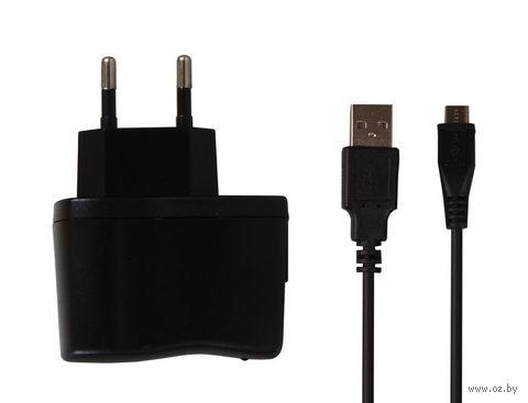 Сетевое зарядное устройство SmartBuy NOVA, 2.1А, кабель MicroUSB (SBP-1160)
