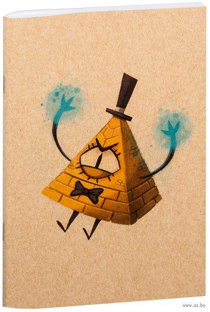 "Блокнот крафт ""Гравити Фолз. Билл"" А5 (арт. 861)"