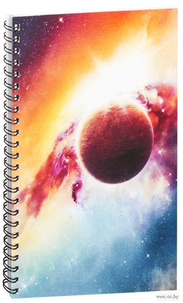 "Блокнот в клетку ""Космос"" (A5; арт. 838) — фото, картинка"