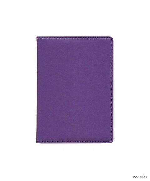 """Обложка для водительских документов Time/System """"Skiver"""" (dark violet)"""