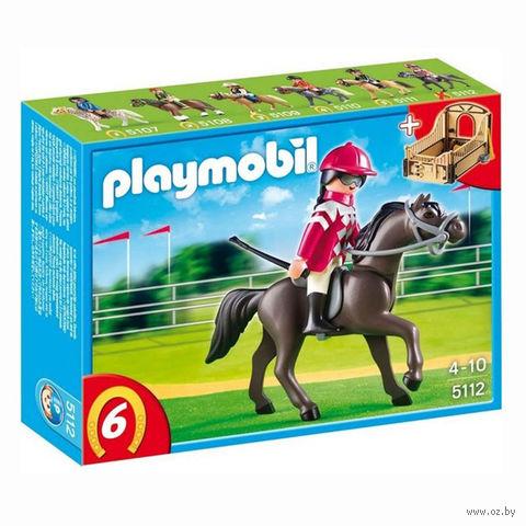 """Игровой набор """"Арабская лошадь со стойлом"""""""