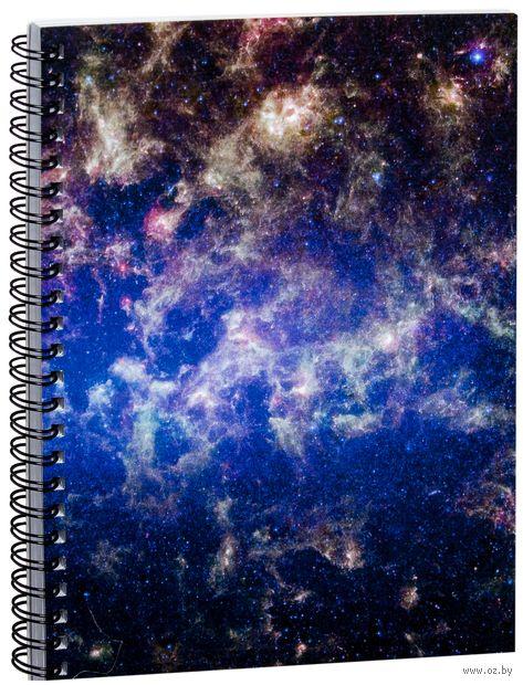 """Блокнот в клетку """"Космос"""" A5 (арт. 846)"""