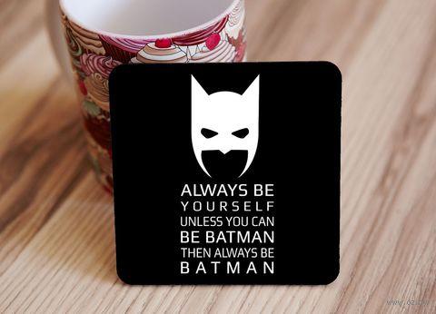 "Подставка под кружку ""Бэтмэн"" (арт. 3) — фото, картинка"