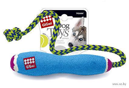 """Игрушка для собак """"Палка с веревкой"""" (20 см)"""