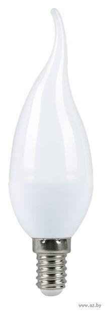 Лампа светодиодная LED C37 5W/4000/E14 (свеча на ветру)