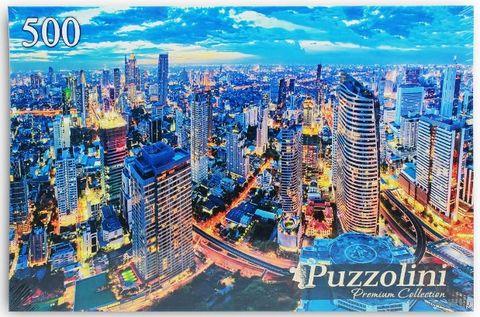 """Пазл """"Ночной Бангкок"""" (500 элементов) — фото, картинка"""