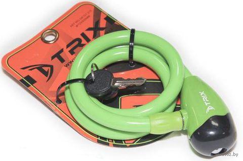"""Велозамок на ключ """"GK101.315"""" (80 см; зелёный) — фото, картинка"""