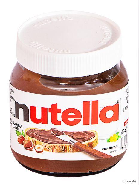 """Паста шоколадно-ореховая """"Nutella"""" (180 г) — фото, картинка"""
